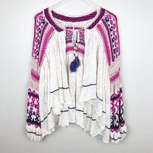 Free People | Dreamland Knit Cardi Boho Vibes M
